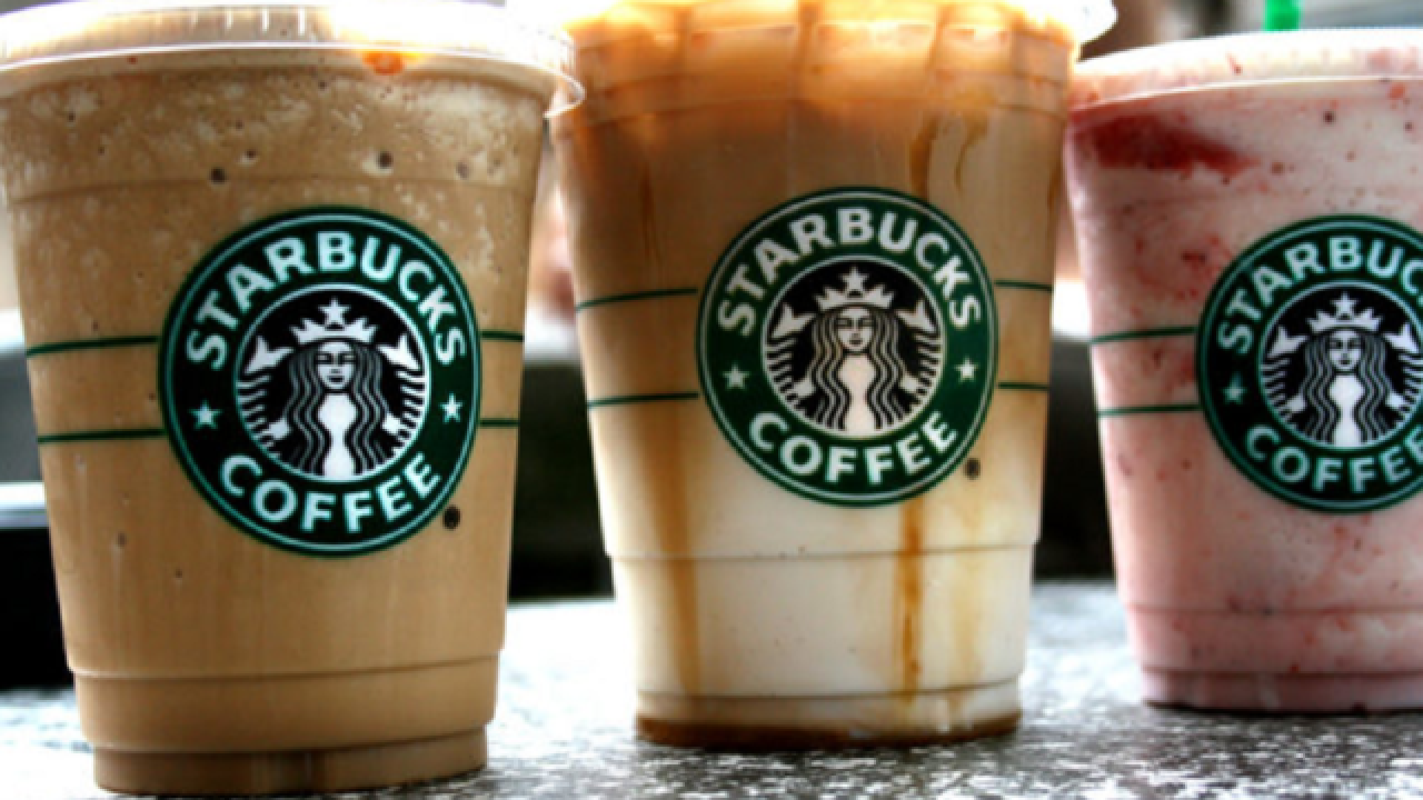 What a deal! Groupon offers $5 for $10 Starbucks gift cards