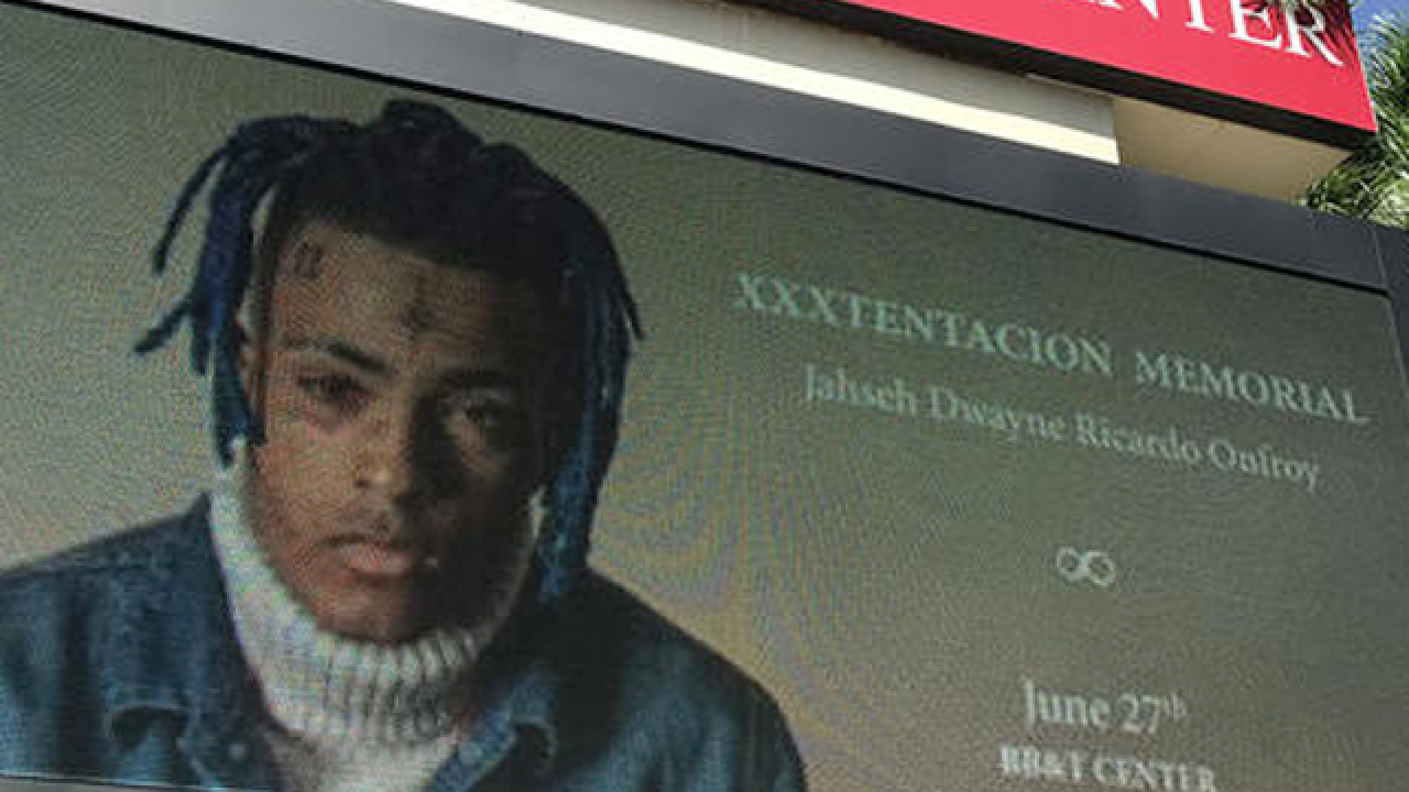 Memorial held at BB&T Center for slain rapper XXXTentacion