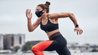 Under Armour Designed A Face Mask For Working Out