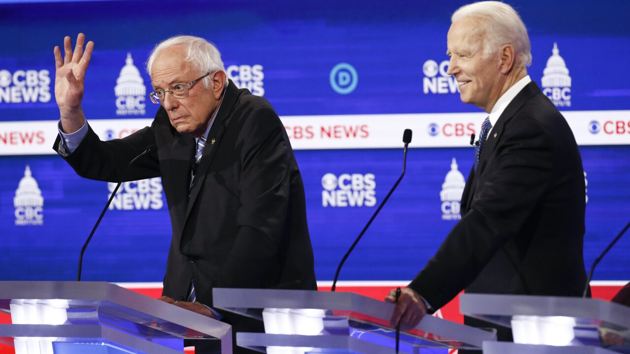 Bernie Sanders takes brunt of attacks at pre-Super Tuesday Democratic debate