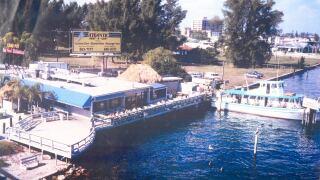 The original 'Crab Pot' restaurant in Riviera Beach.