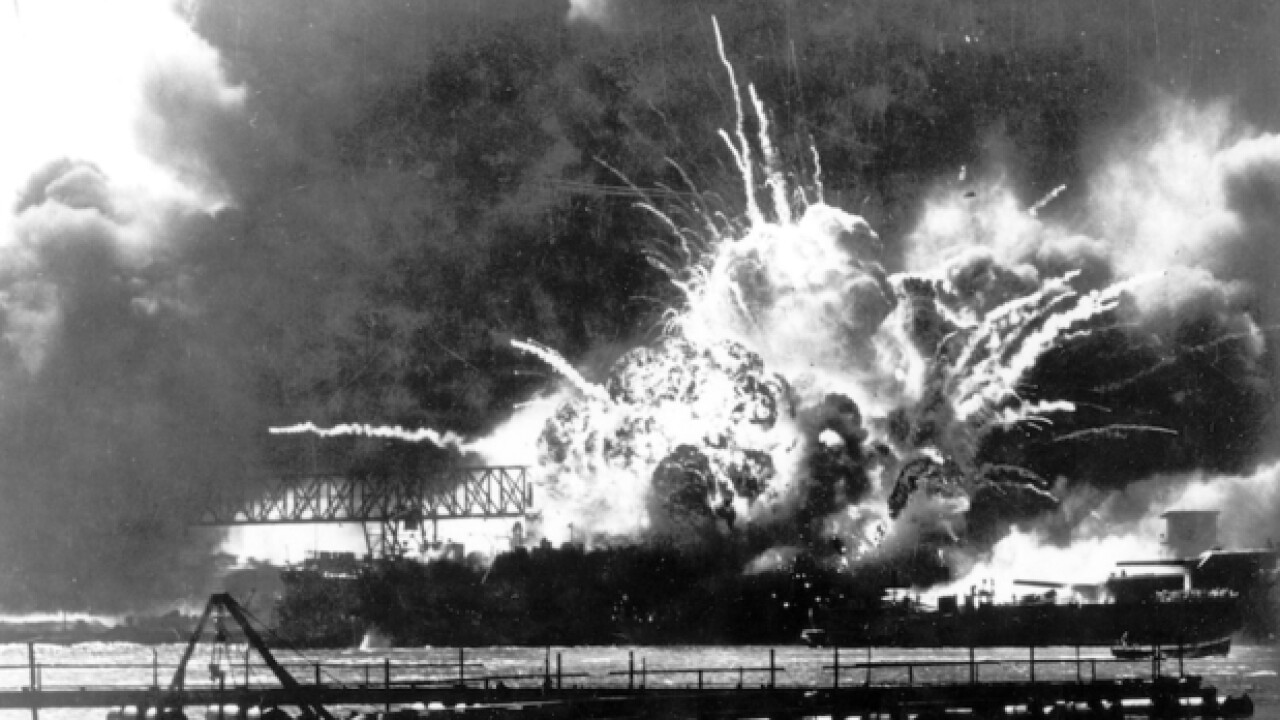 97YO veteran recalls 1941 attack on Pearl Harbor