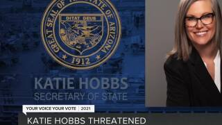 Secretary of State Katie Hobbs assigned protection over threats amid election audit