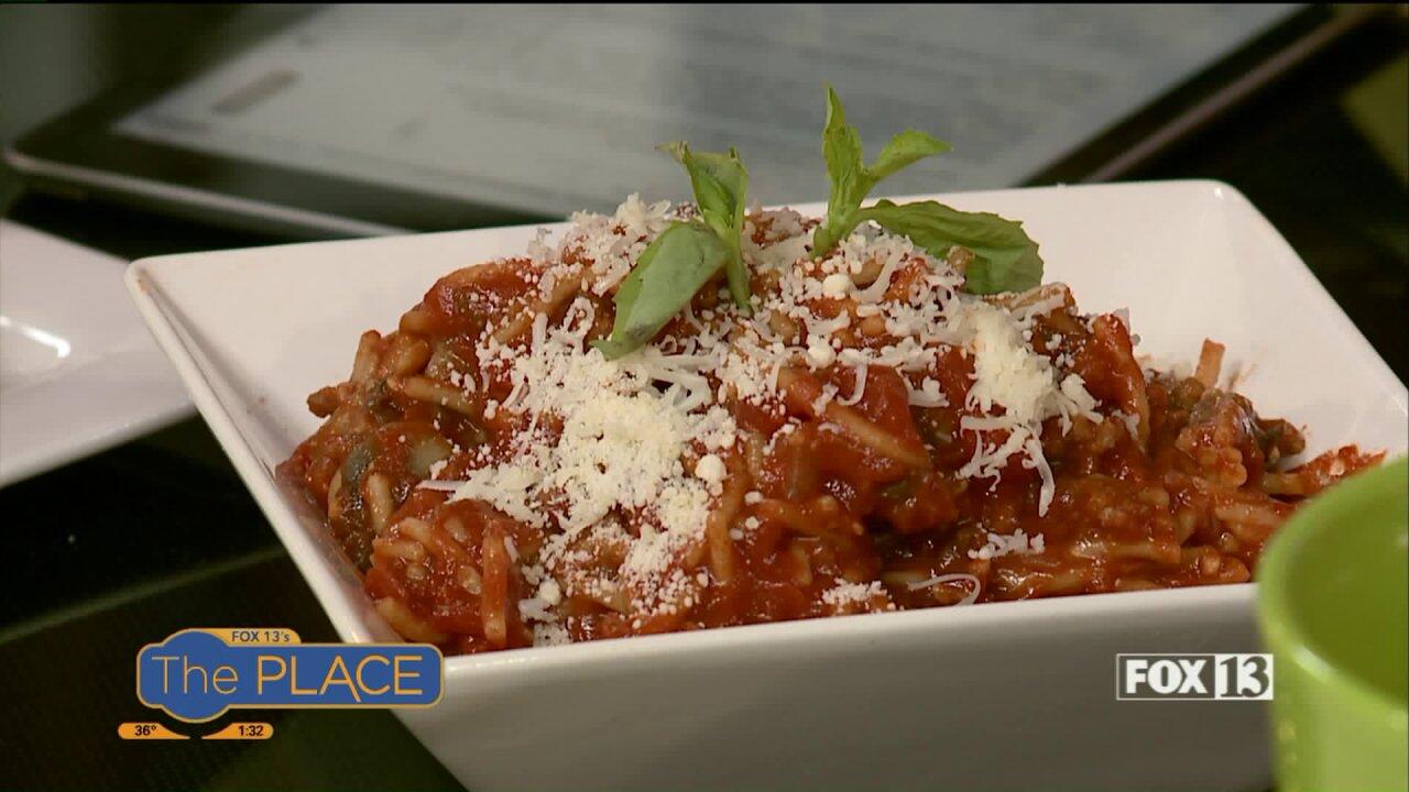 Pressure Cooker Spaghettirecipe