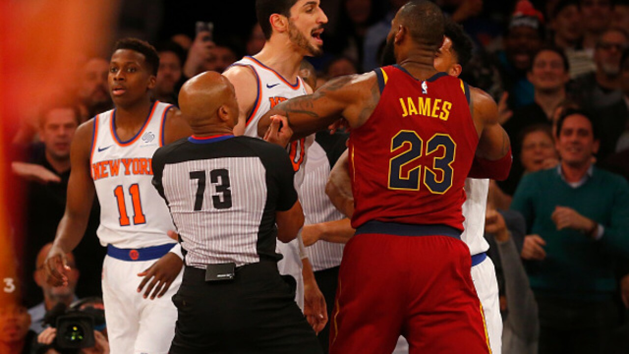 New York Knicks player pokes fun at Cavs final score against Oklahoma
