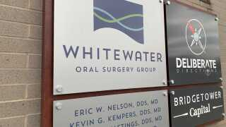 Whitewater Oral Surgery Group sign