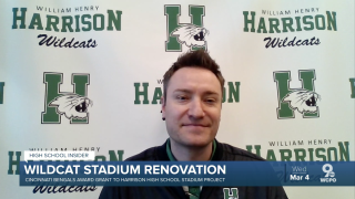 Harrison Athletic Director Mark Meibers discusses the Wildcat Stadium