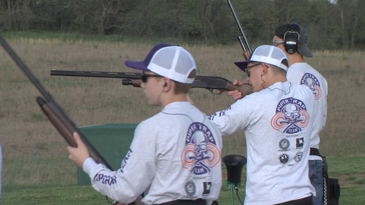 Piper HS trapshooting club