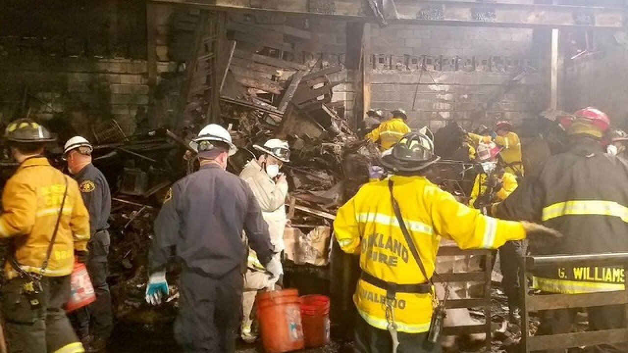 Plea deal reached in Ghost Ship warehouse fire