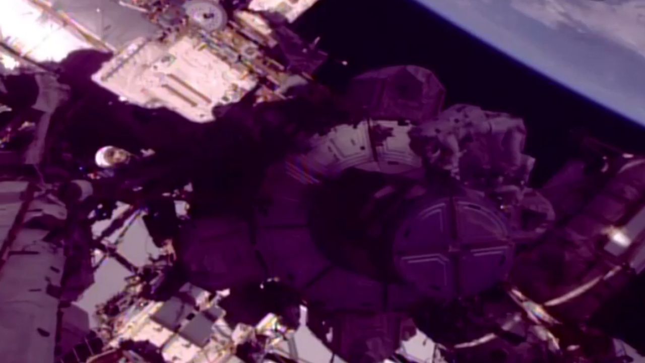 Watch: NASA astronauts perform spacewalk outside International Space Station