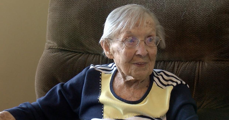 Helen Paulik, age 100.