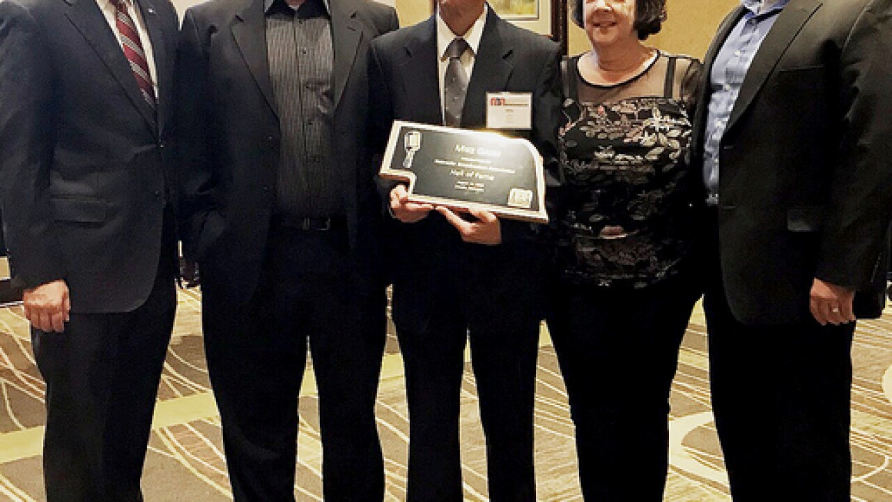 Engineer Mike Gann inducted into Hall of Fame