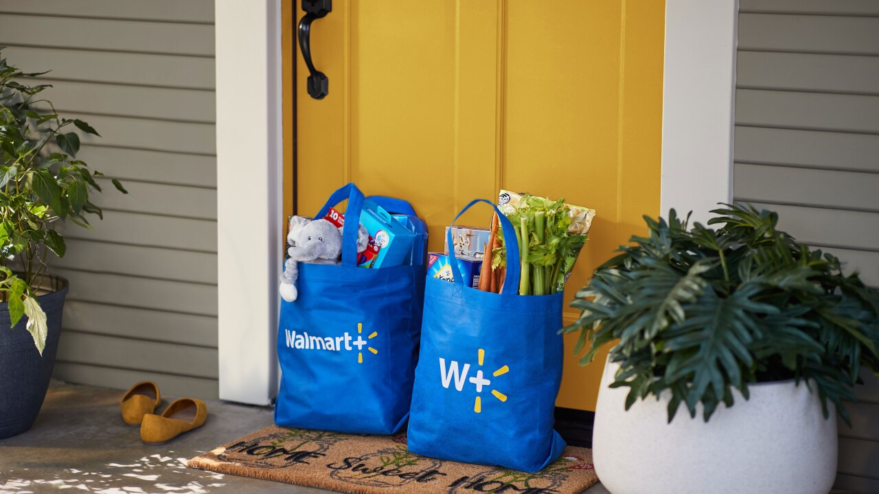Walmart+ : New membership program offers free delivery, faster in-store shopping