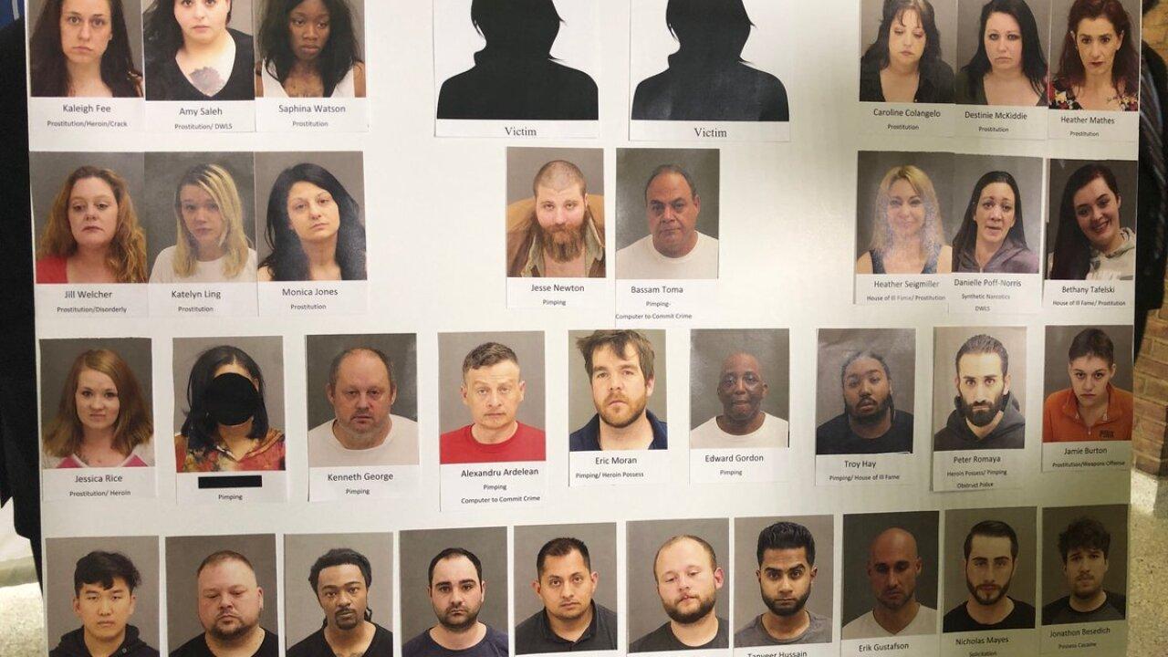 Warren Human Trafficking suspects