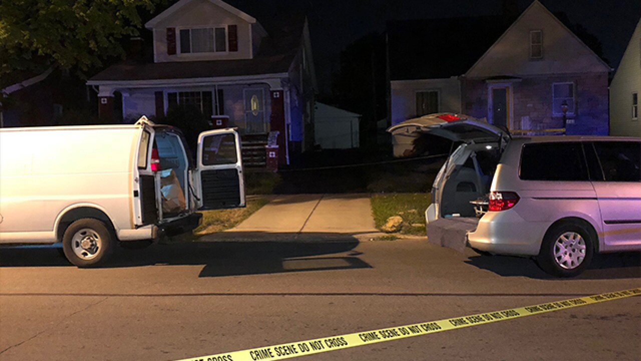 Body found buried at CLE home, 20YO arrested