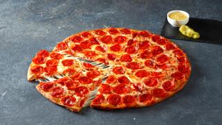 Shaquille O'Neal, Papa John's unveil Shaq-a-Roni Pizza