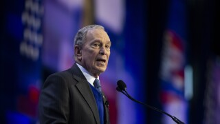 Mike Bloomberg sends $18 million to Democratic Party