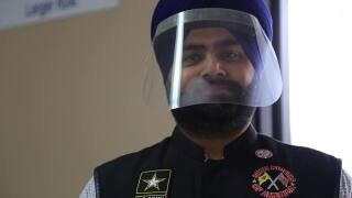 Sikh Riders of America make masks
