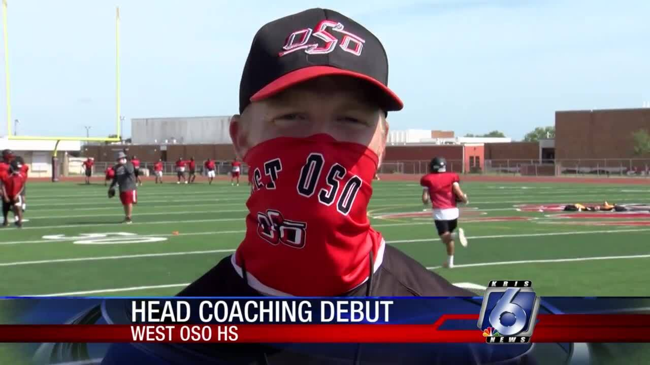 New West Oso coach Brad Smithey