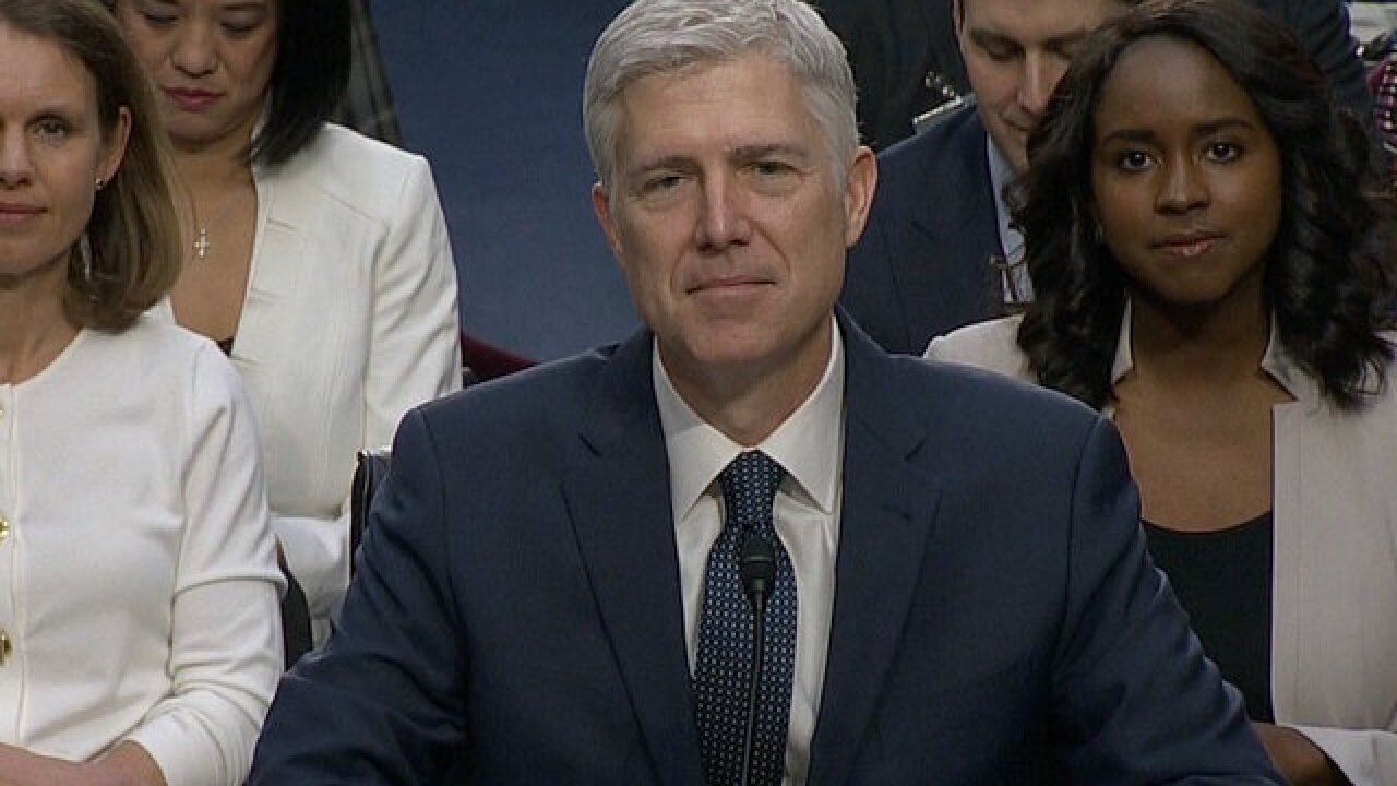 Here's how senators plan to vote on Supreme Court nominee Neil Gorsuch