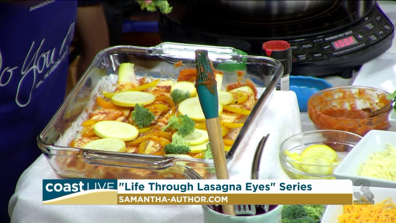 Sam The Lasagna Lady shares her story and her recipe for life on CoastLive