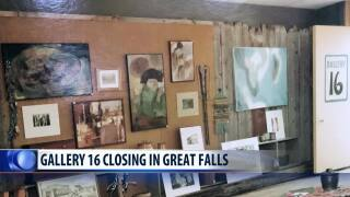 Gallery 16 in downtown Great Falls