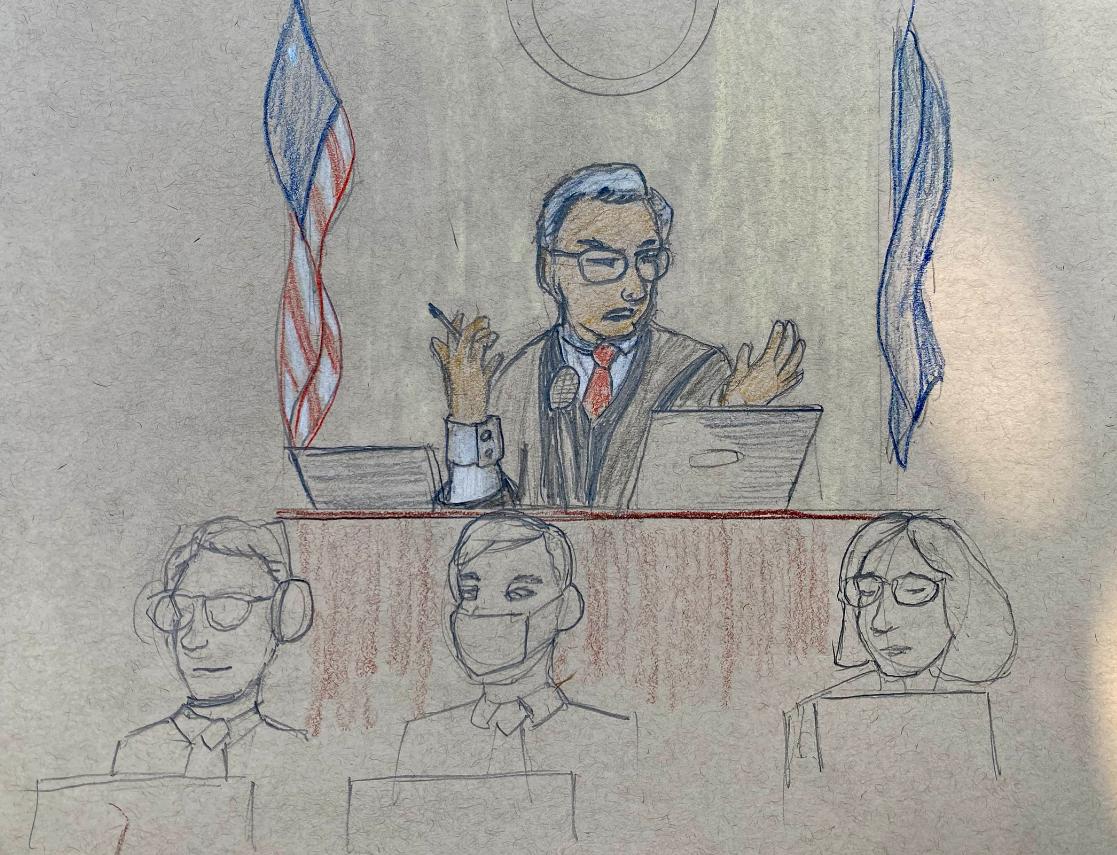Garbin Court Sketch 3