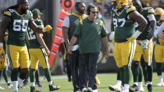 Joe Barry, Za'Darius Smith, Kenny Clark Packers Football