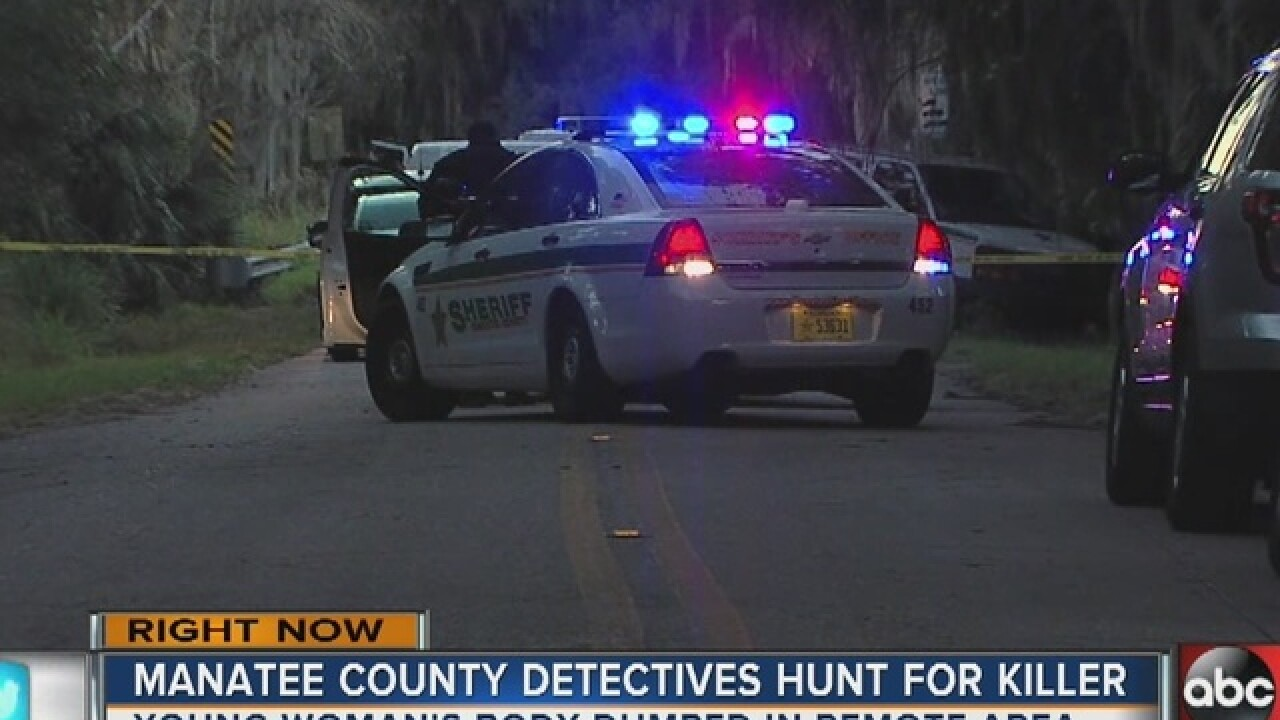 Woman's body found in rural Palmetto
