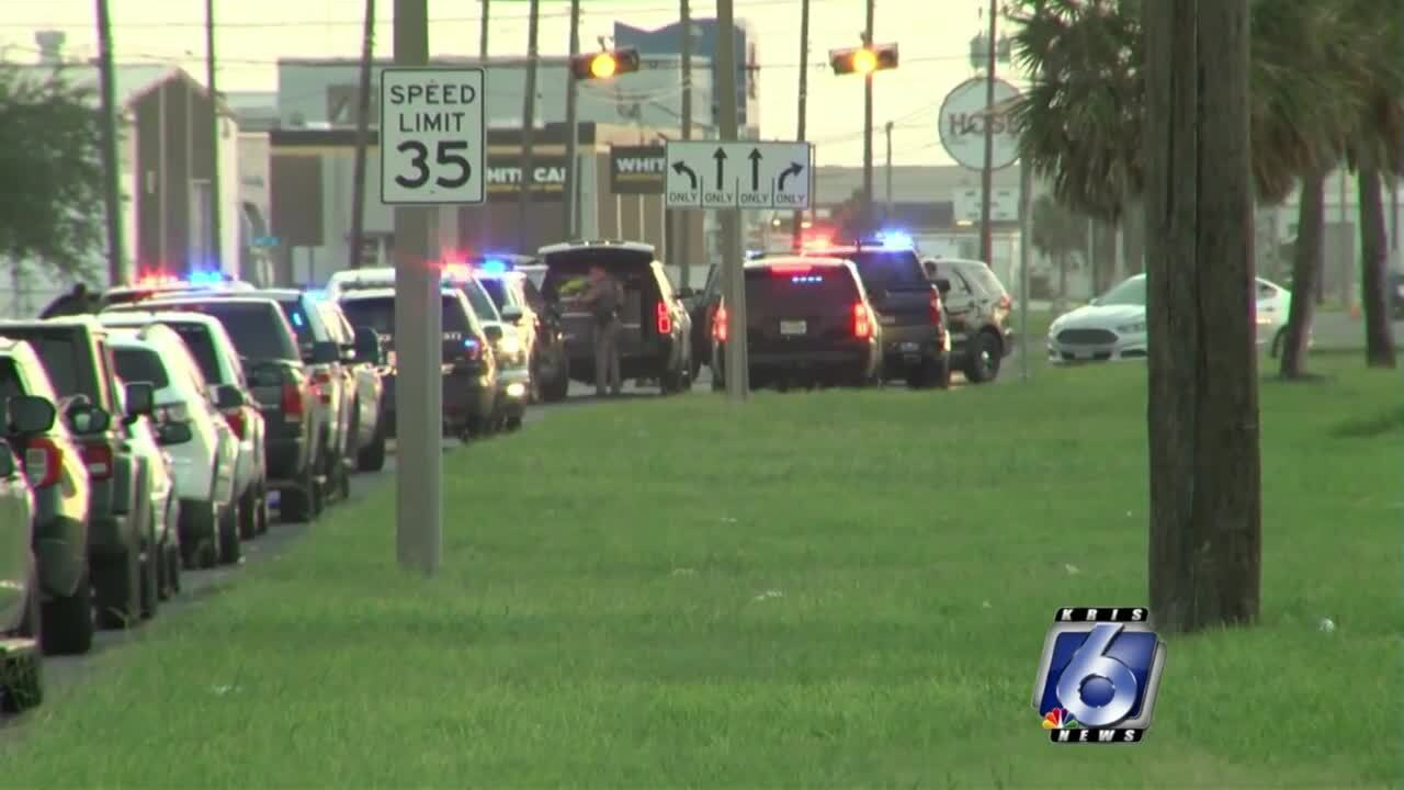 One man remains hospitalized after apparently shooting himself