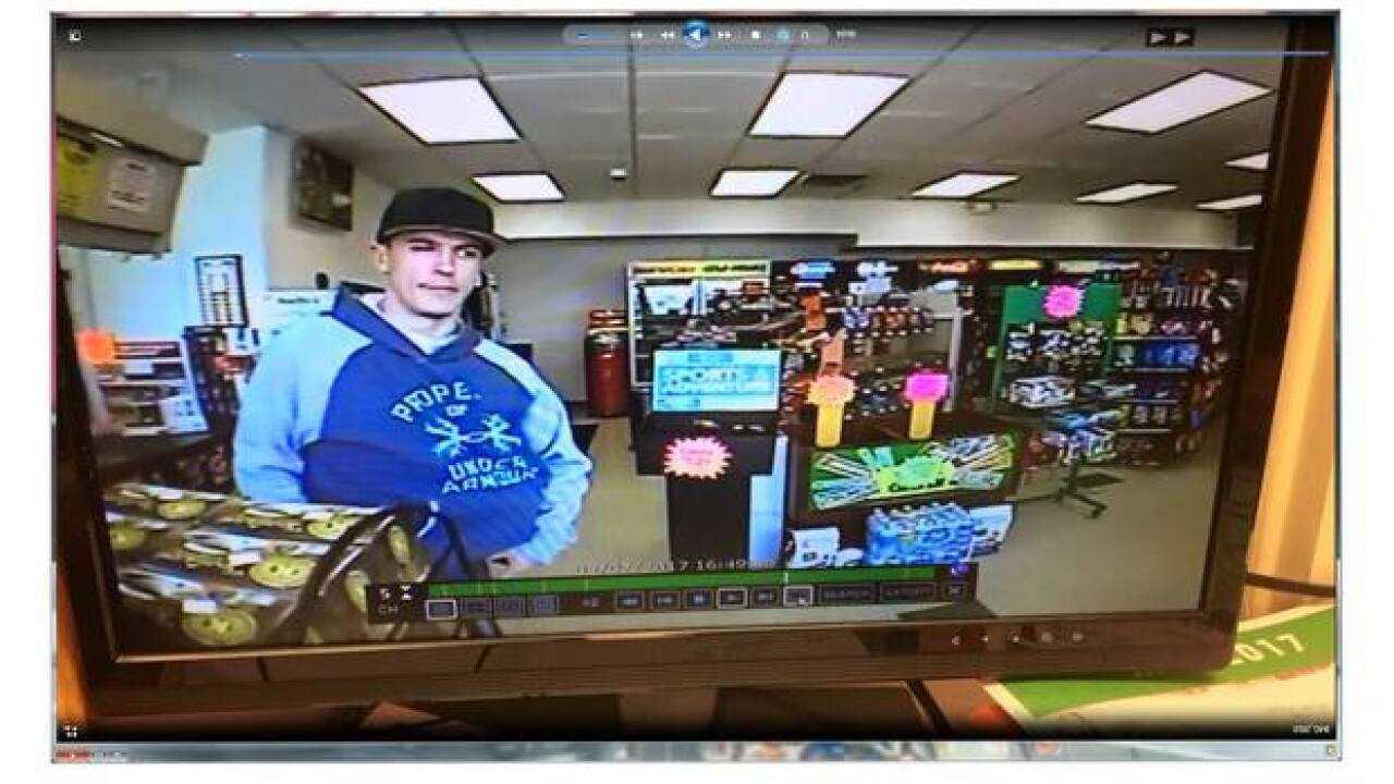 Man sought for theft of Multiple Sclerosis donations