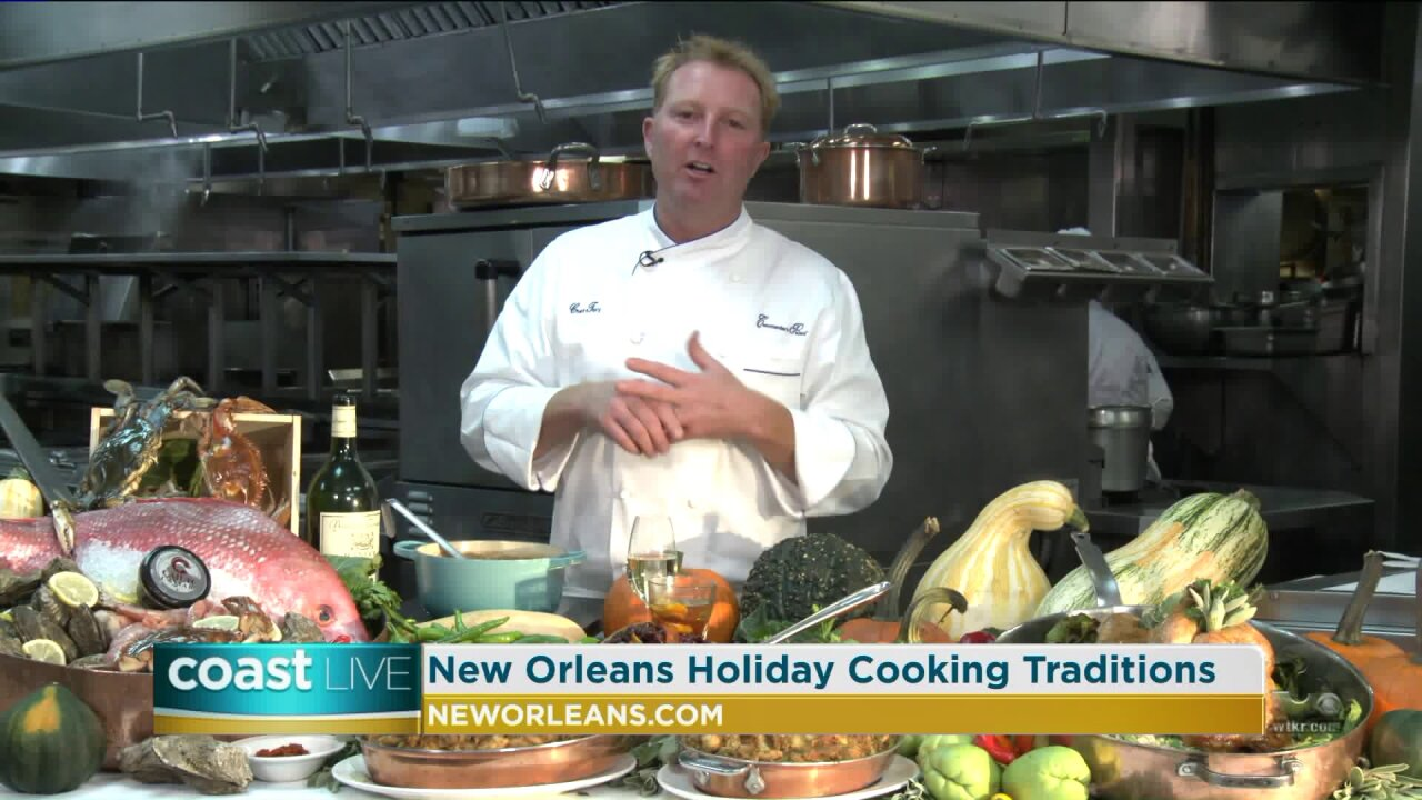 New Orleans holiday cooking traditions and festivals on Coast Live