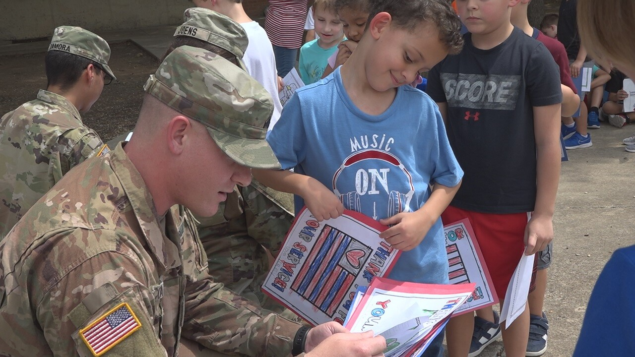 Belton ISD students honor soldiers, learn about 9/11