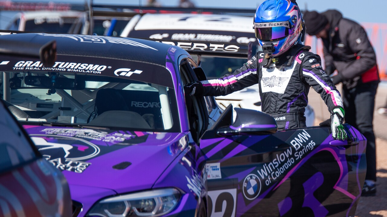 Laura Hayes is one of two women competing in the Pikes Peak International Hill Climb