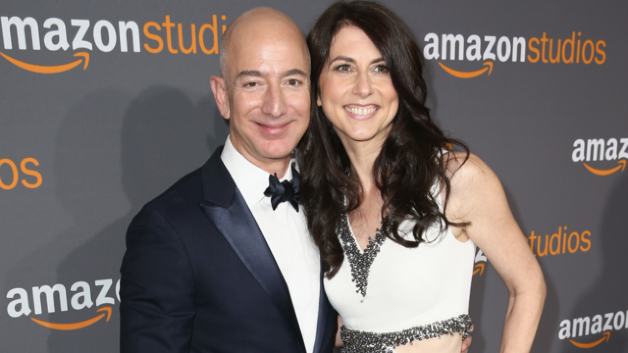 Jeff and MacKenzie Bezos, the world's richest couple