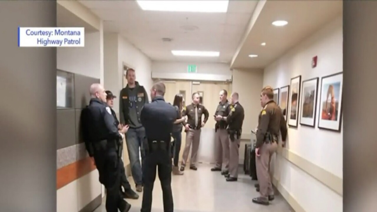 Montana Highway Patrol stands guard in Utah hospital over trooper shot in the line of duty
