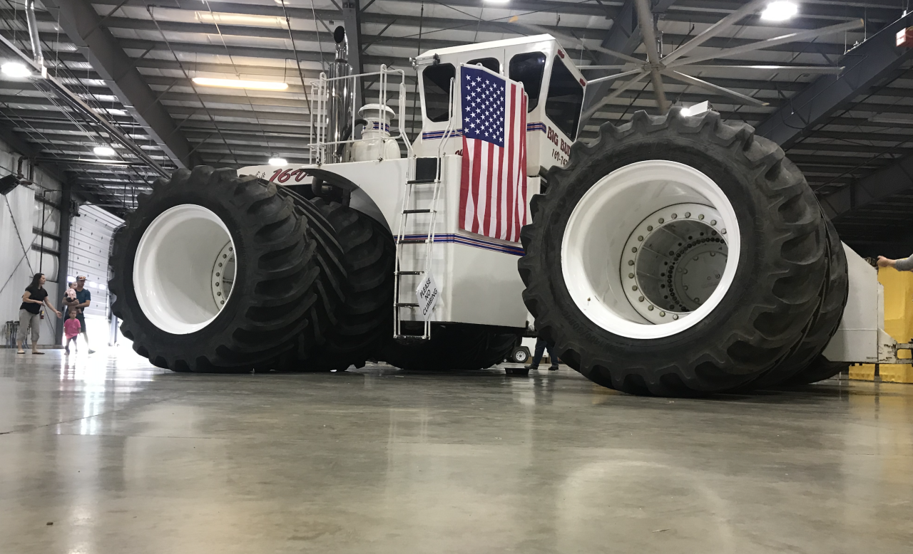 Largest Farm Tractor