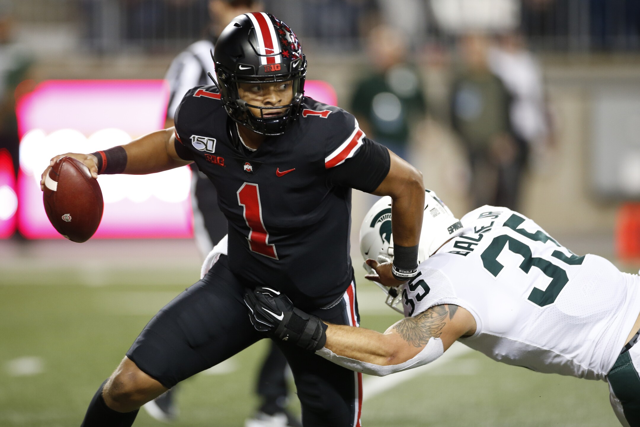 Michigan St Ohio St Football
