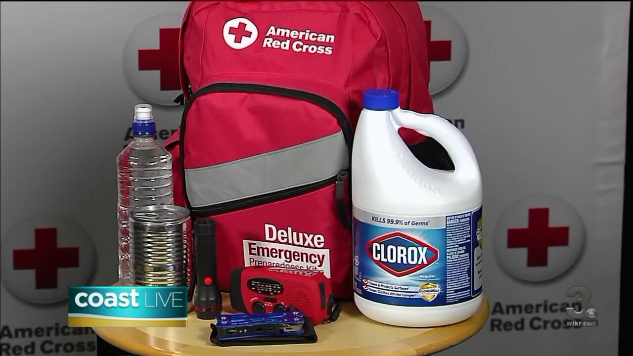 "How to get ""Red Cross Ready"" for natural disasters on Coast Live"