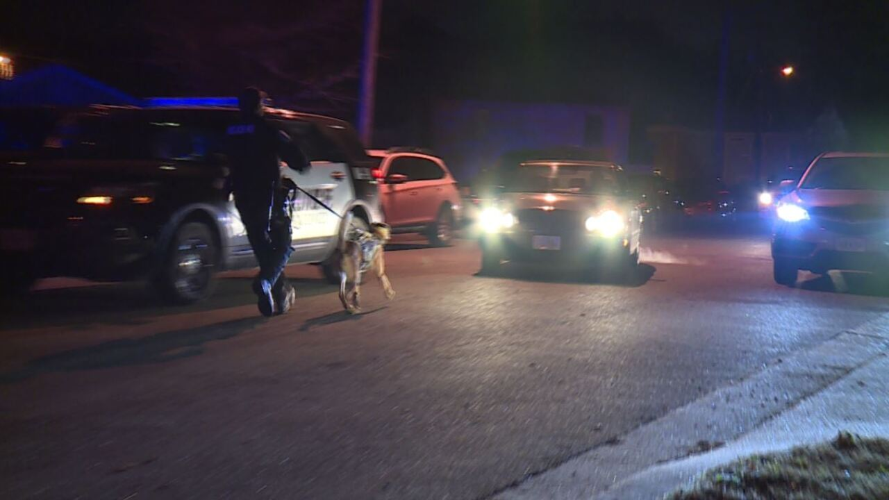 Police swarm Richmond neighborhood after Christmas Eve double shooting