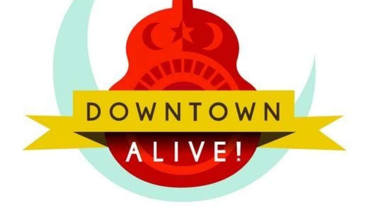 Downtown Alive announces new online concert series