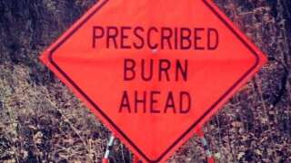 Firefighters conduct prescribed burns ahead of storm