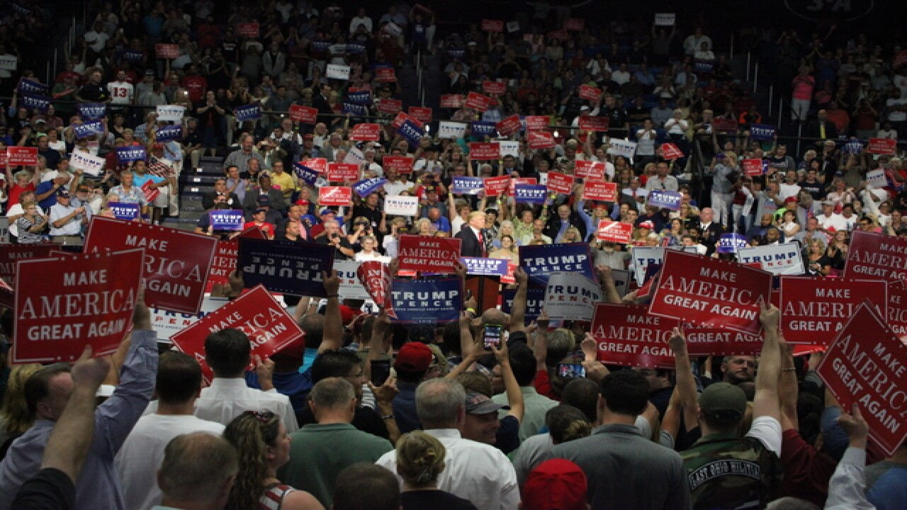 PHOTOS: Inside the Trump Rally at U of Akron