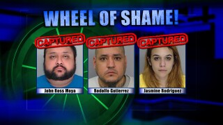 Wheel Of Shame Fugitives Arrested: John Ross Moya, Rodolfo Gutierrez & jasmine Rodriguez