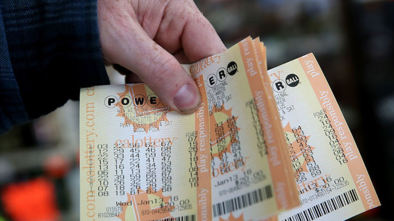 Numbers released for Wednesday's $460M Powerball