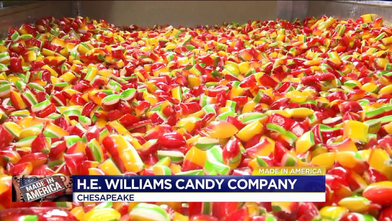 Made in America: Chesapeake's H.E. Williams CandyCompany