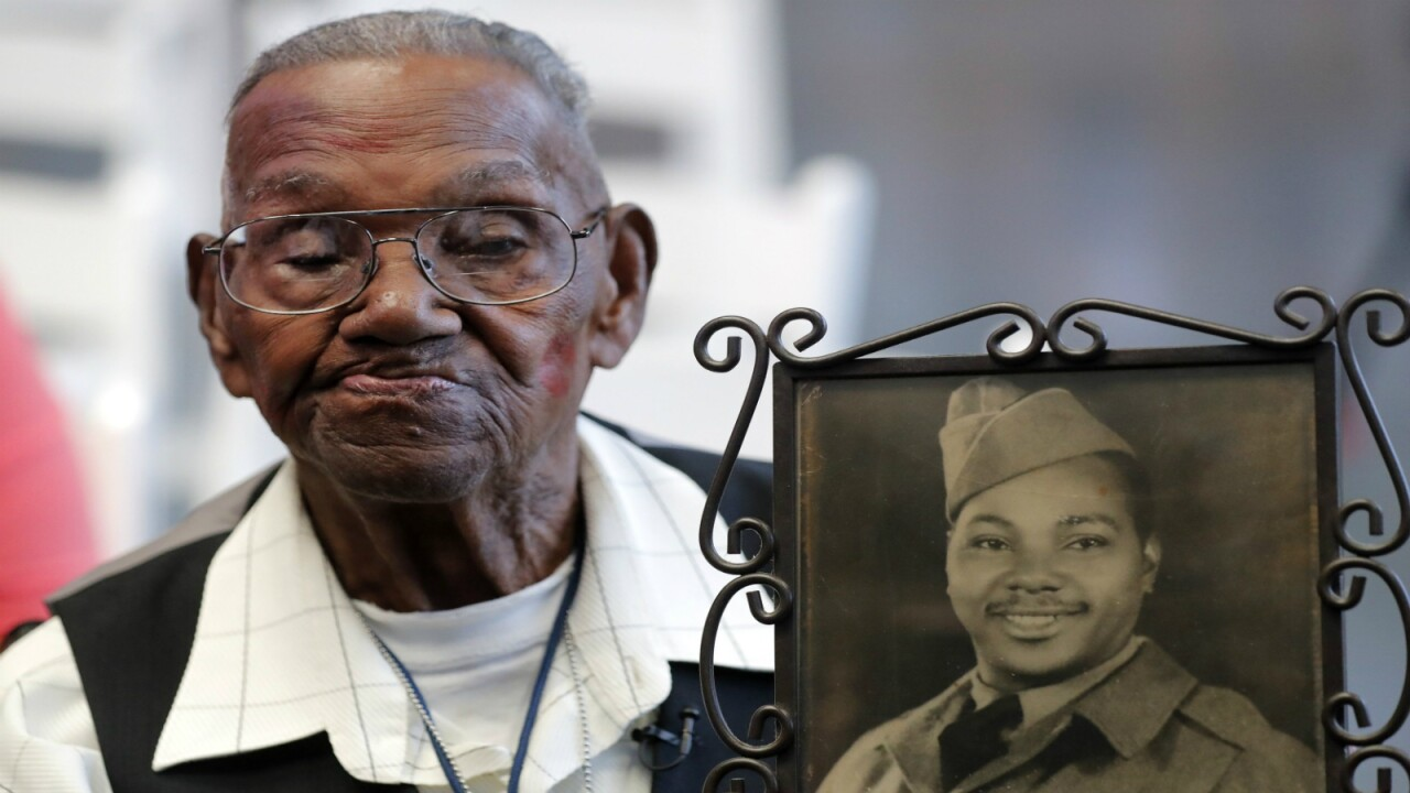 Man believed to be oldest living American World War II veteran celebrates his 110th birthday