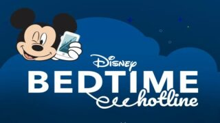 Disney's Free Bedtime Hotline Will Help You Get Your Kids To Sleep With Goodnight Messages From Their Favorite Characters