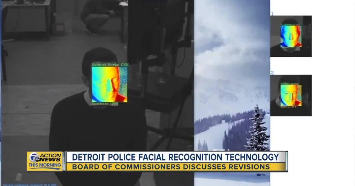 Detroit's facial recognition technology program under revision