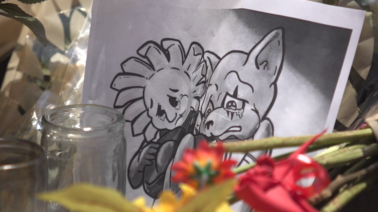 El Paso man uses his gift of art to help community heal